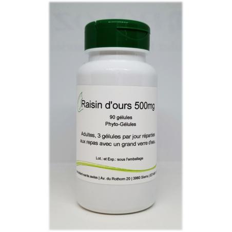 Raisin d'ours - 90 gélules