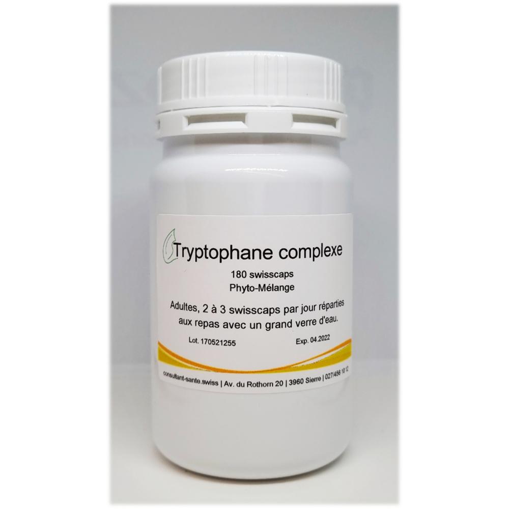 Tryptophane complexe - 180 swisscaps