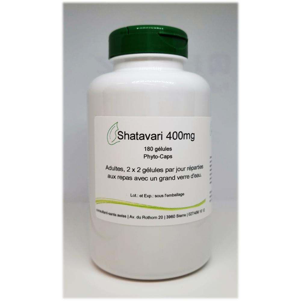 Shatavari 400mg - 180 gélules