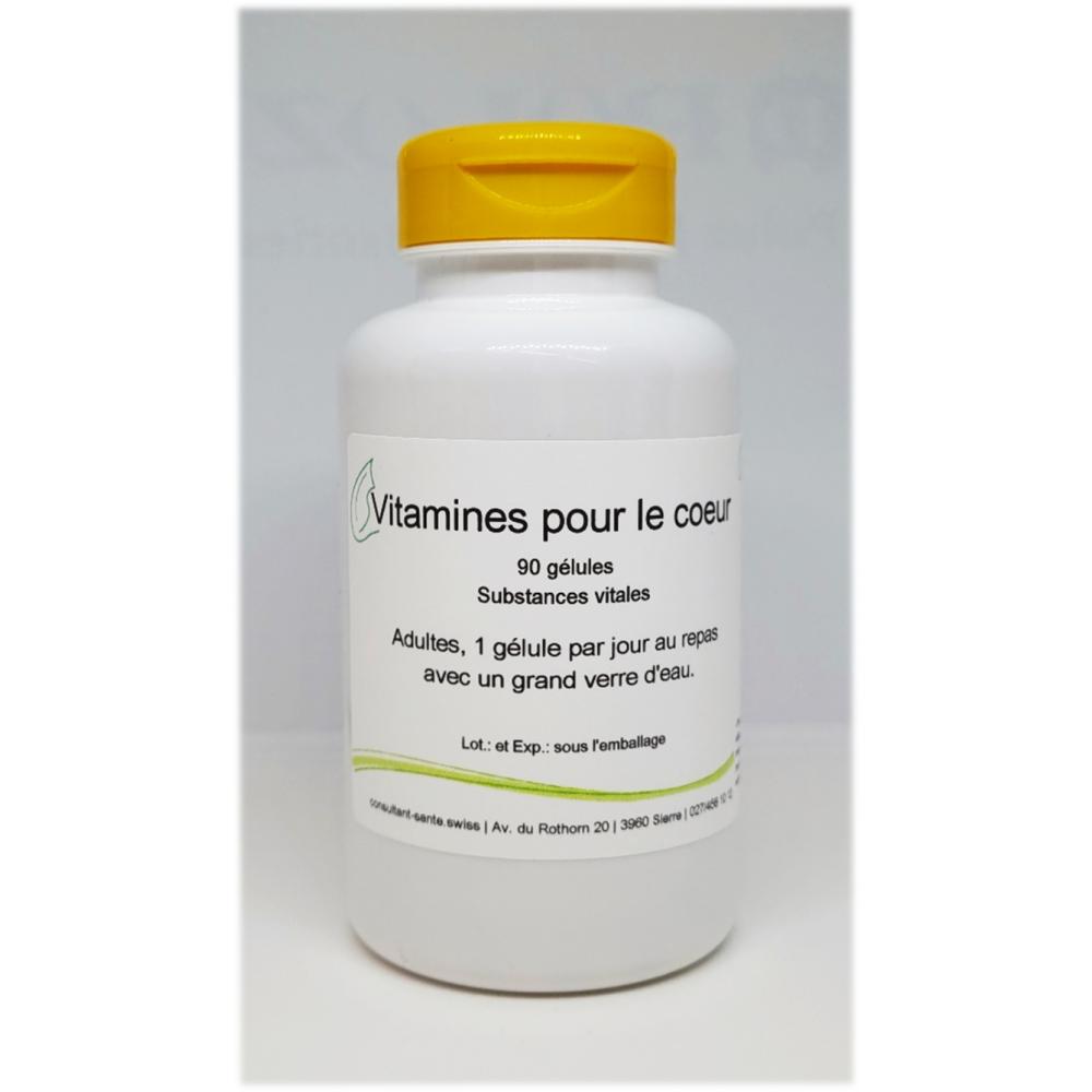 Vitamines pour le cœur - 90 gélules