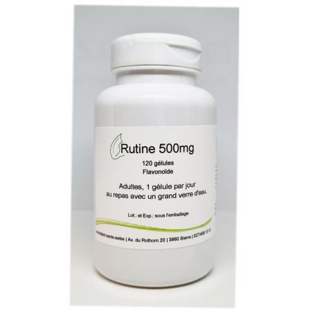 Rutine 500mg - 120 gélules