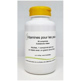 Vitamines pour les yeux - 90 comprimés