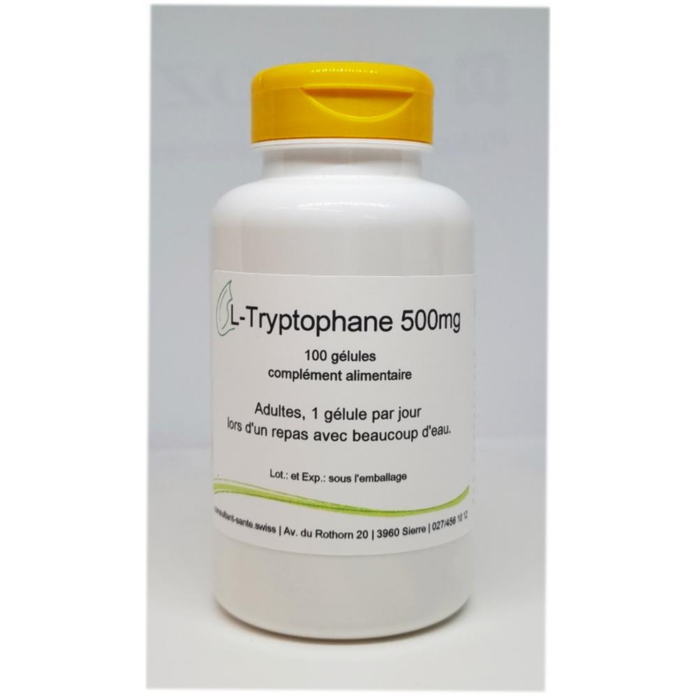 L-Tryptophane 500mg - 100 gélules