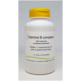 Vitamines B complexe - 250 comprimés