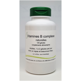 Vitamines B complexe naturelles - 120 gélules