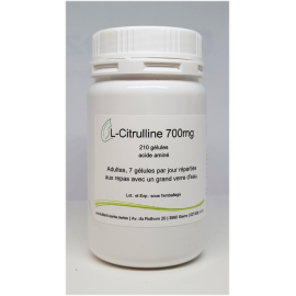 L-Citrulline 700mg - 210 gélules