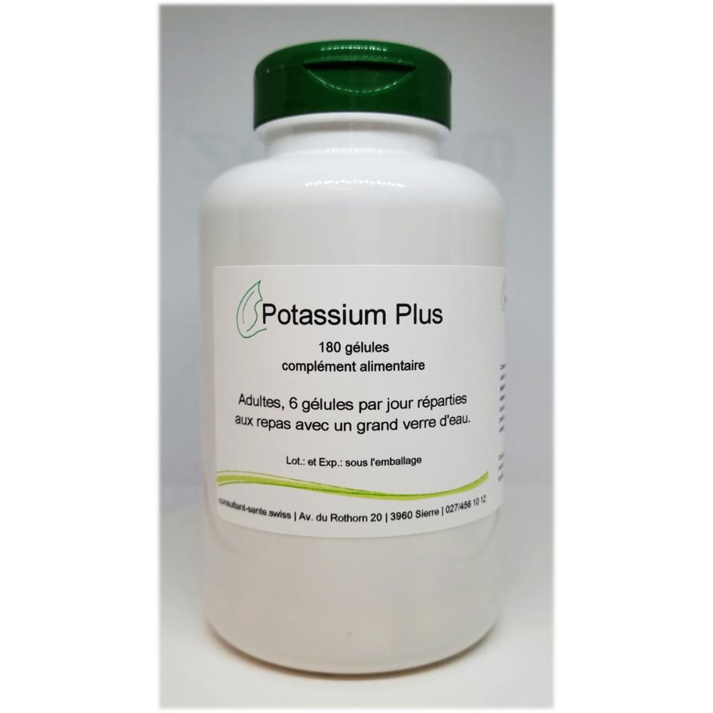 Potassium Plus - 180 gélules