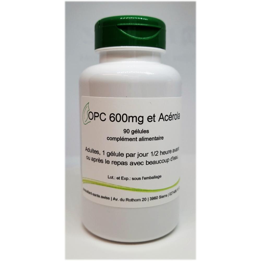 OPC et vitamine C - 120 comprimés