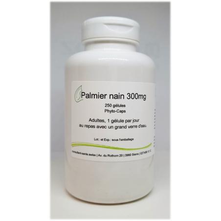 Palmier nain 300mg - 250 gélules