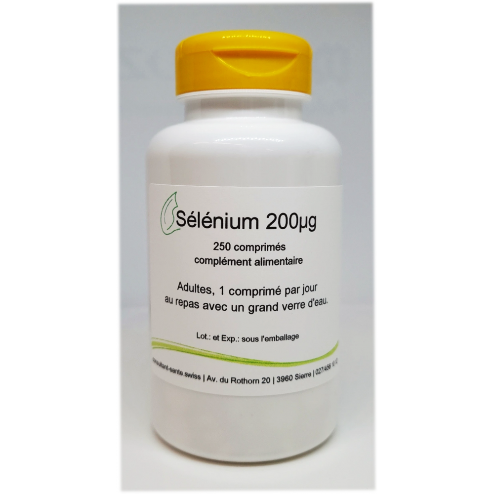 Sélénium 200µg - 250 comprimés