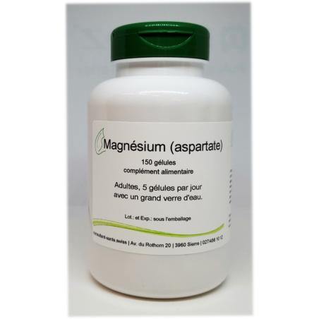 Magnésium (aspartate) - 150 gélules