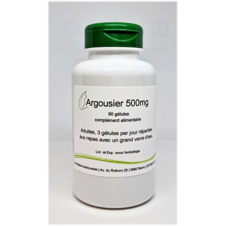 Argousier 500mg - 90 gélules