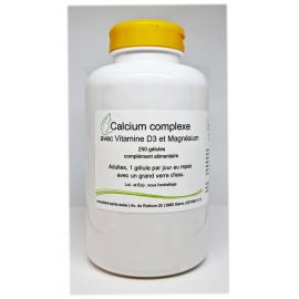Calcium complexe - 250 gélules