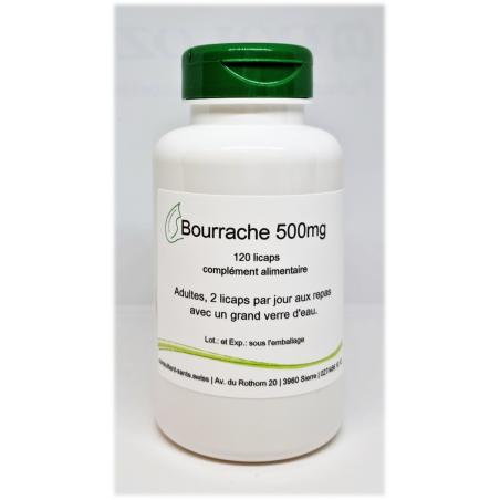 Bourrache 500mg - 120 licaps