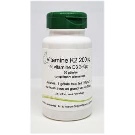 Vitamin K2 und Vitamin D3