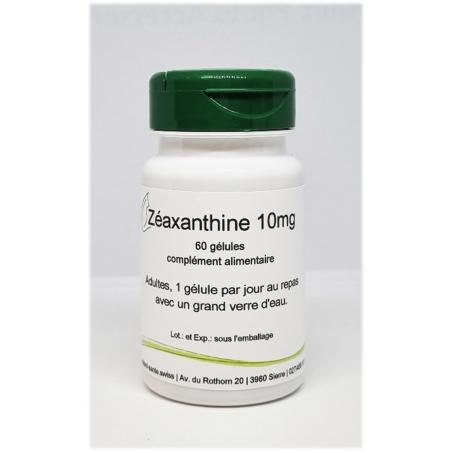 Zéaxanthine 10mg - 60 gélules