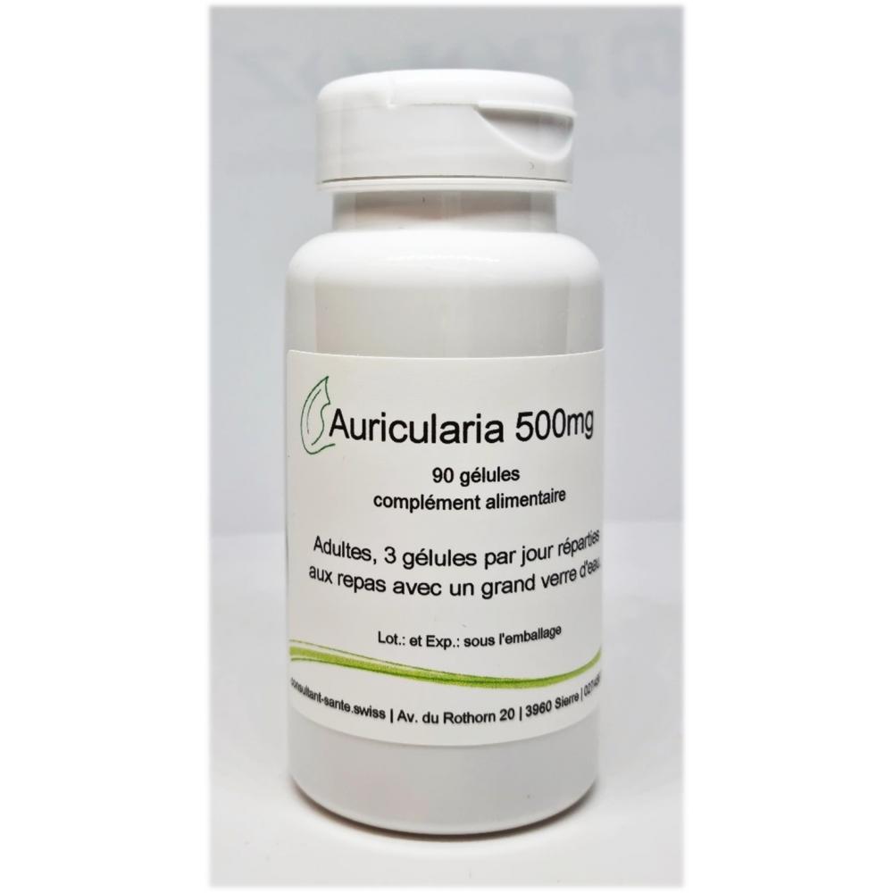 Auricularia 500mg - 90 gélules