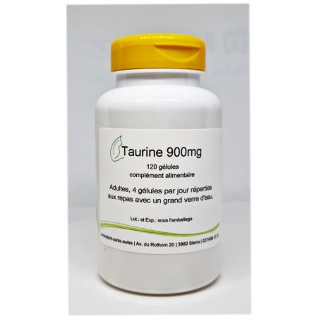 Taurine 900mg - 120 gélules