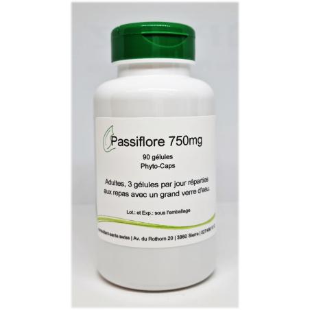 Passiflore 750mg - 90 gélules