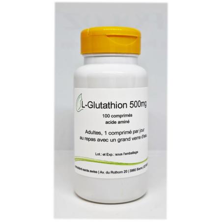 L-Glutathion 500mg - 100 comprimés