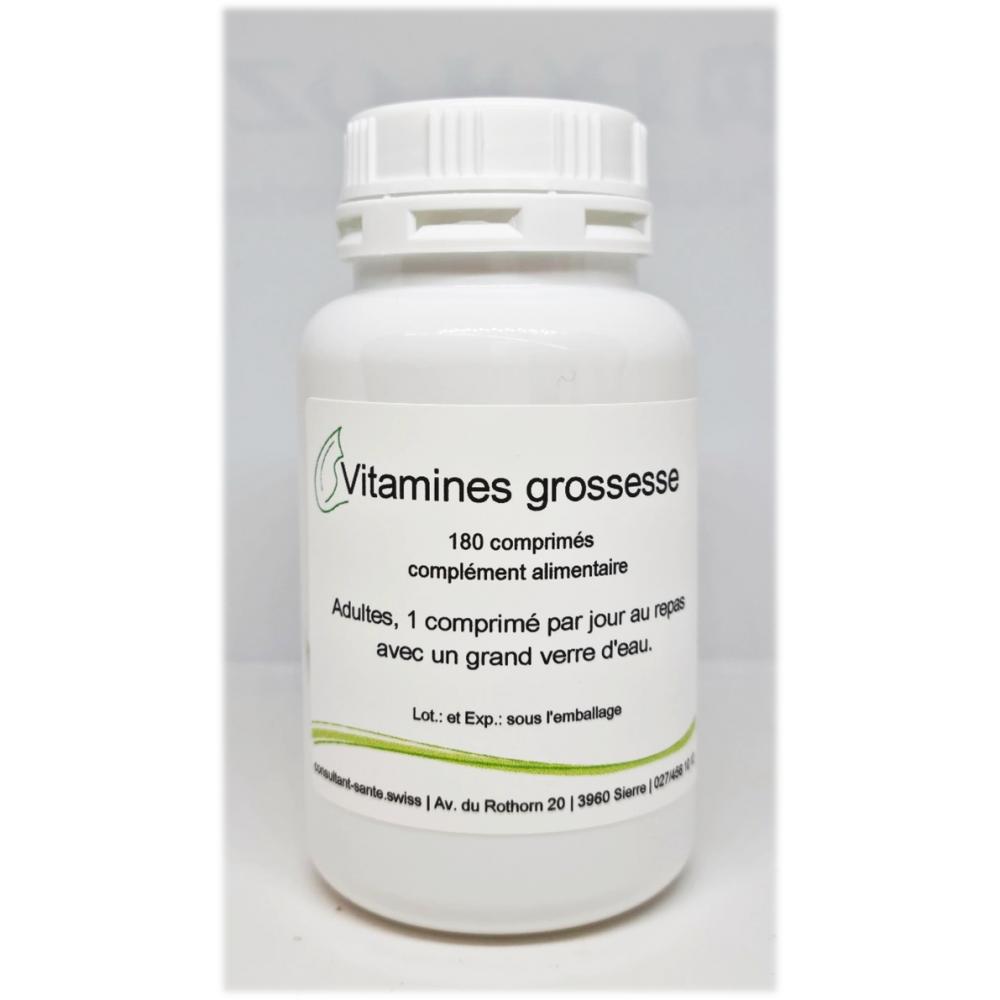 Vitamines pour la grossesse - 180 comprimés