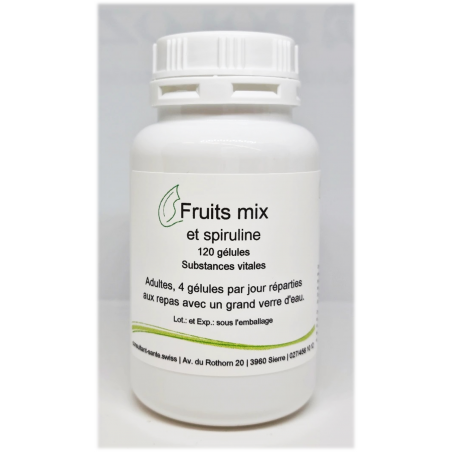 Fruits mix - 120 gélules