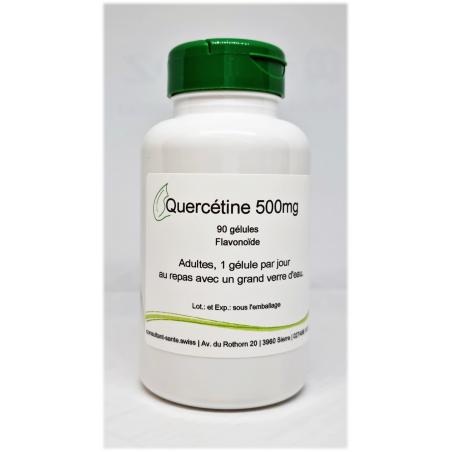 Quercétine 500mg - 90 gélules