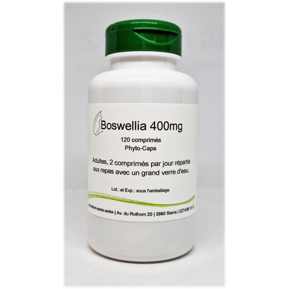 Boswellia 400mg - 120 comprimés