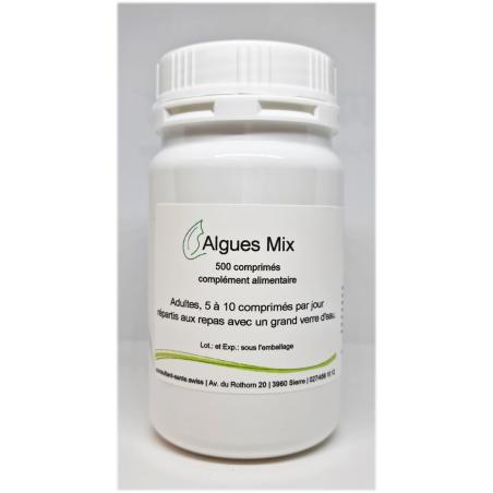 Algues mix - 500 comprimés