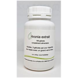 Aronia extrait - 180 gélules