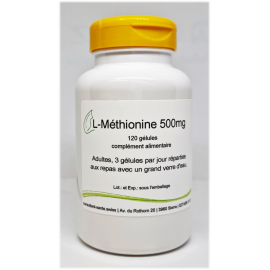 L-Metionina 500mg