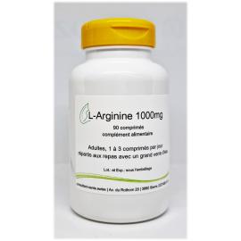 L-Arginine 1000mg - 90 comprimés