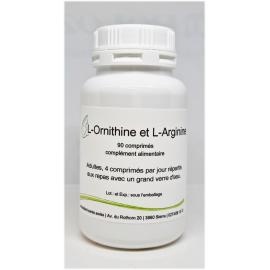 L-Ornithine et L-Arginine - 90 comprimés