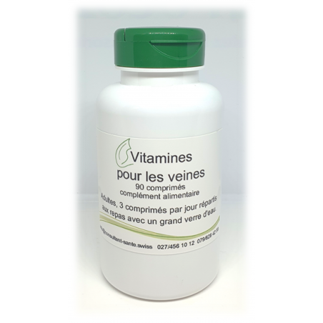 Vitamines pour les veines - 90 comprimés