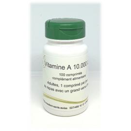 Vitamine A 10.000 U.I. - 100 comprimés