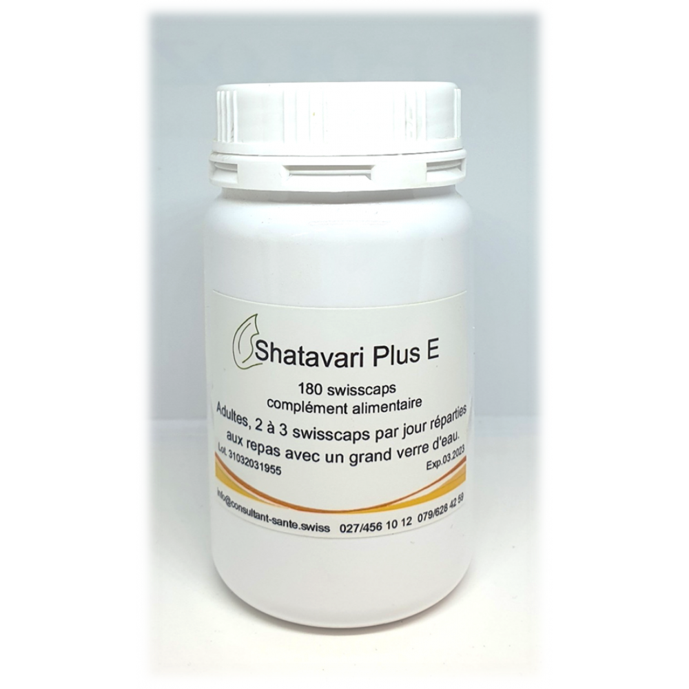 Shatavari Plus E (endométriose) - 180 swisscaps