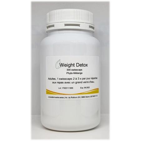 Weight'Detox - 300 swisscaps