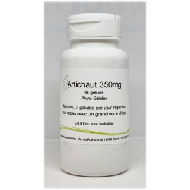 Artichaut 350mg - 90 gélules