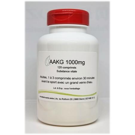 AAKG 1000mg - 120 comprimés