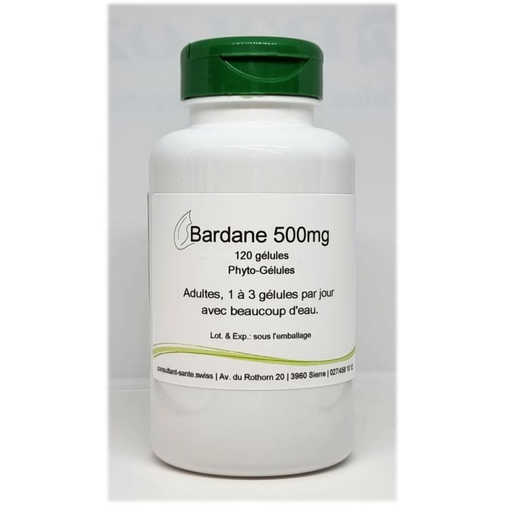 Bardane 500mg - 120 gélules