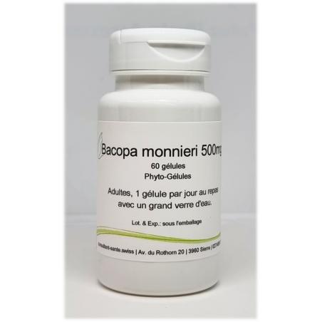 Bacopa monnieri 500mg - 60 gélules