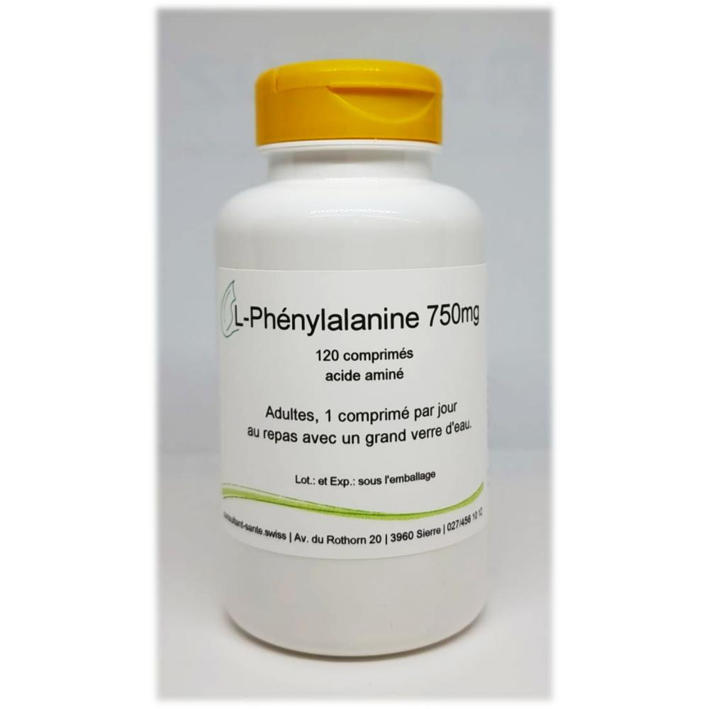 L-Phénylalanine 750mg - 120 comprimés