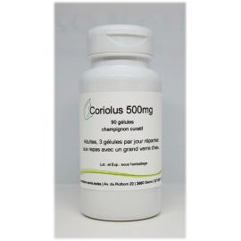 Coriolus 500mg - 90 gélules